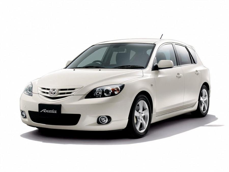 Mazda Axela хетчбэк, 2003–2009, 1 поколение - отзывы, фото и характеристики на Car.ru