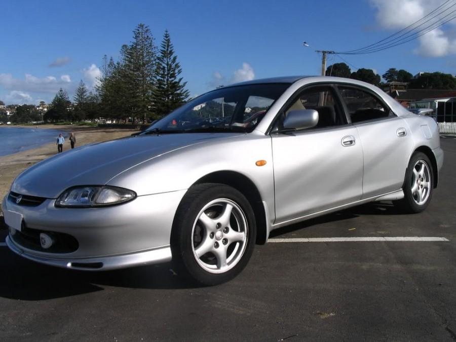 Mazda Lantis седан, 1993–1996, 1 поколение - отзывы, фото и характеристики на Car.ru