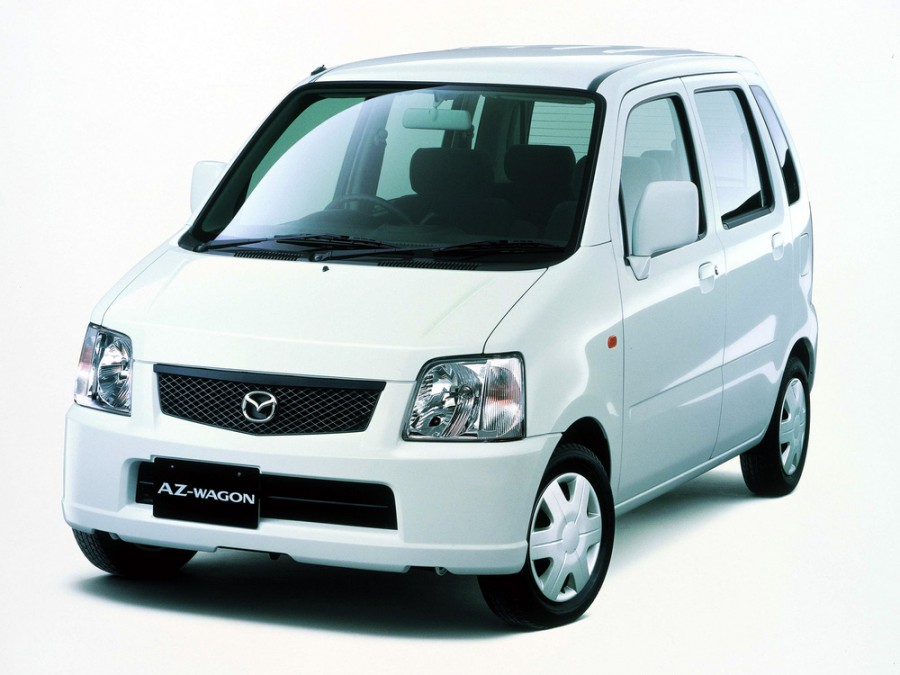 Mazda AZ-Wagon хетчбэк, 1998–2003, 2 поколение - отзывы, фото и характеристики на Car.ru