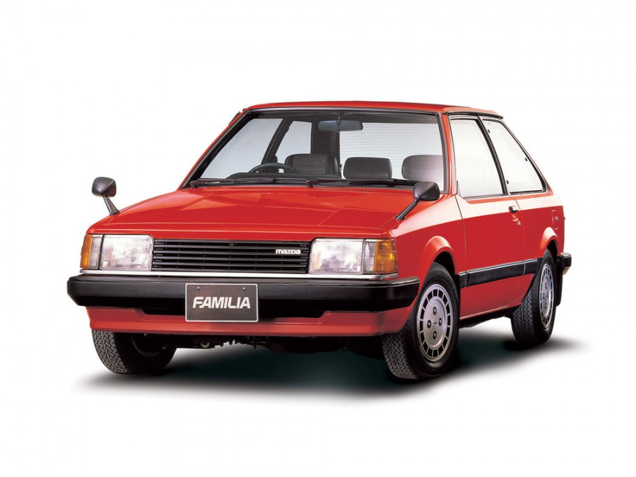 Mazda Familia хетчбэк 3-дв., 5 поколение - отзывы, фото и характеристики на Car.ru