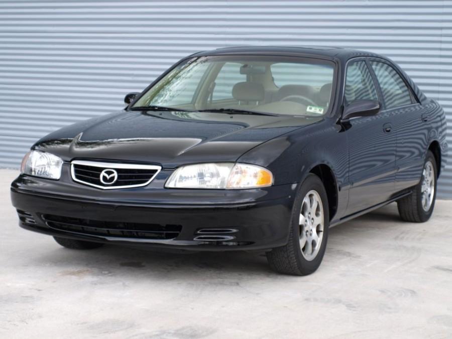 Mazda 626 US-Spec. седан 4-дв., 1999–2002, GF [рестайлинг] - отзывы, фото и характеристики на Car.ru