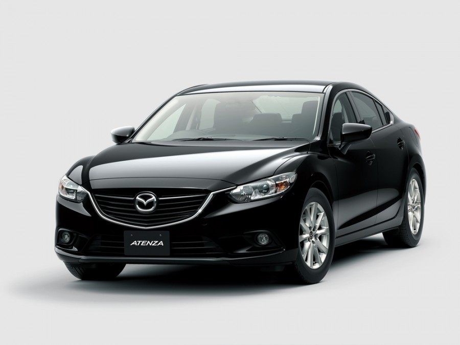 Mazda Atenza седан, 2012–2016, 3 поколение - отзывы, фото и характеристики на Car.ru