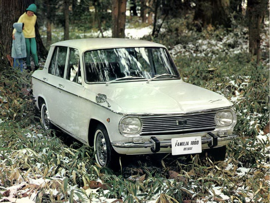 Mazda Familia седан, 1 поколение [рестайлинг] - отзывы, фото и характеристики на Car.ru