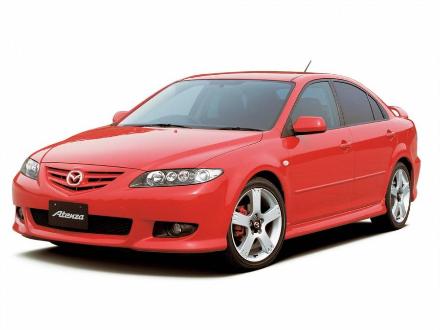 Mazda Atenza хетчбэк, 2002–2005, 1 поколение - отзывы, фото и характеристики на Car.ru