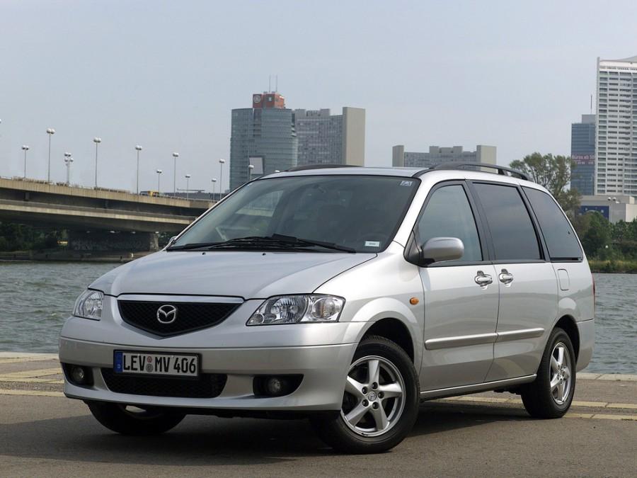 Mazda MPV минивэн, 1999–2003, 2 поколение - отзывы, фото и характеристики на Car.ru