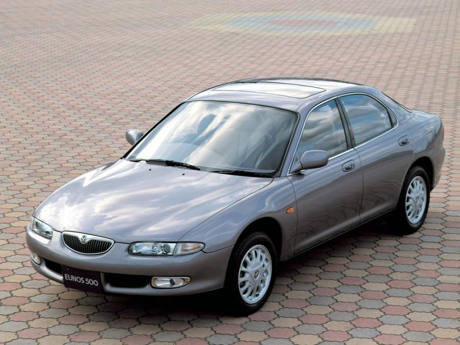 Mazda Eunos 500 седан, 1991–1996, 1 поколение - отзывы, фото и характеристики на Car.ru