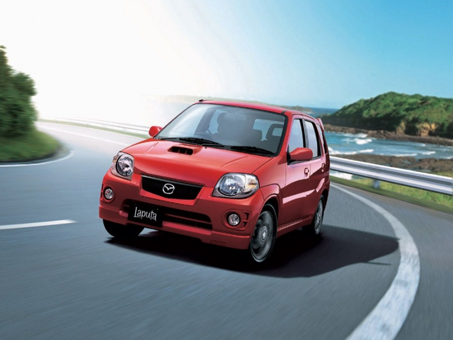 Mazda Laputa хетчбэк 5-дв., 1999–2016, 1 поколение - отзывы, фото и характеристики на Car.ru