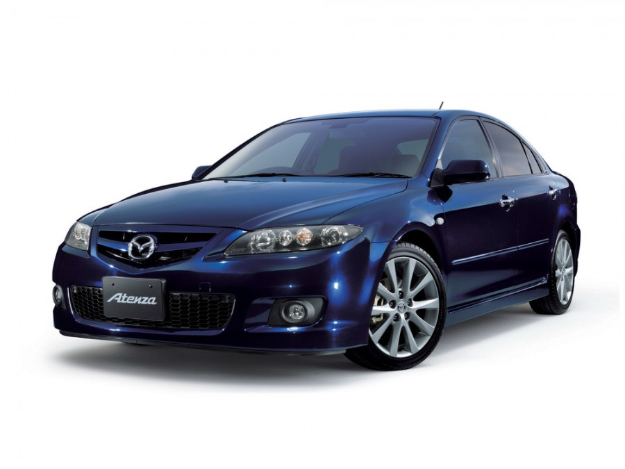Mazda Atenza хетчбэк, 2005–2007, 1 поколение [рестайлинг] - отзывы, фото и характеристики на Car.ru