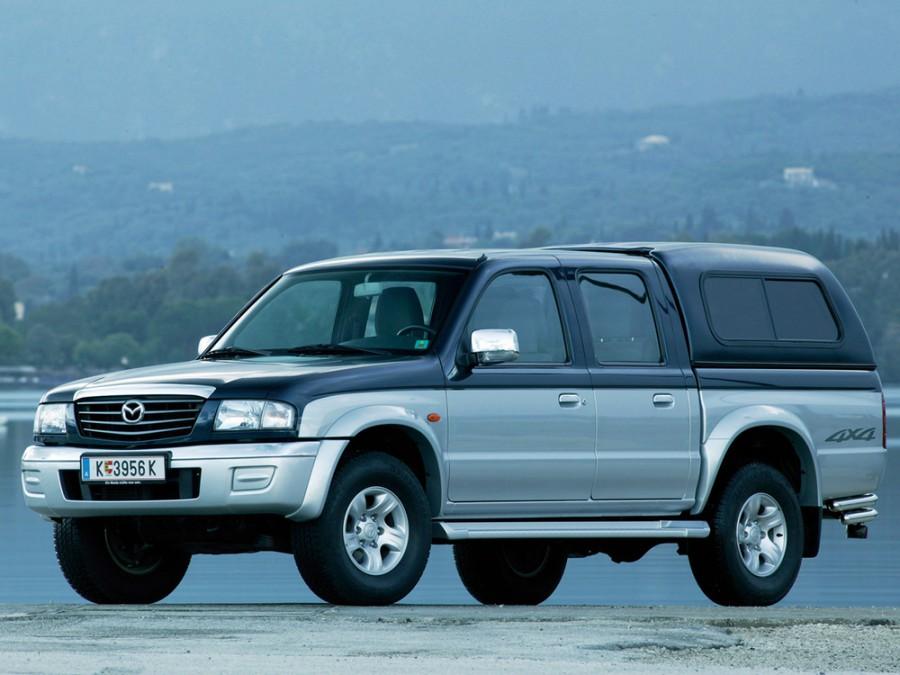 Mazda B-Series Double Cab пикап 4-дв., 2002–2008, 5 поколение [рестайлинг] - отзывы, фото и характеристики на Car.ru
