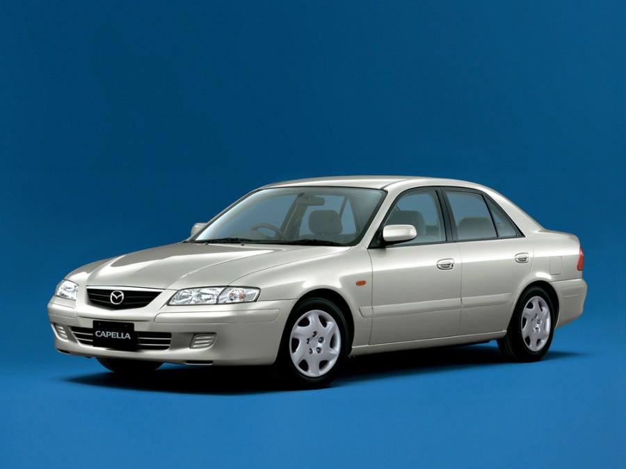 Mazda Capella седан, 1997–2002, 7 поколение - отзывы, фото и характеристики на Car.ru