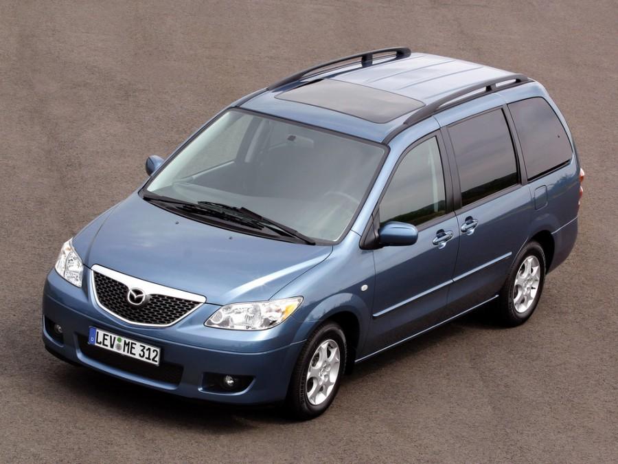 Mazda MPV минивэн 5-дв., 2003–2006, 2 поколение [рестайлинг] - отзывы, фото и характеристики на Car.ru