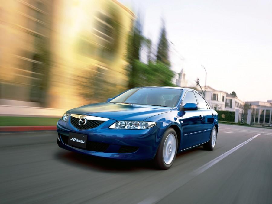Mazda Atenza седан, 2002–2005, 1 поколение - отзывы, фото и характеристики на Car.ru