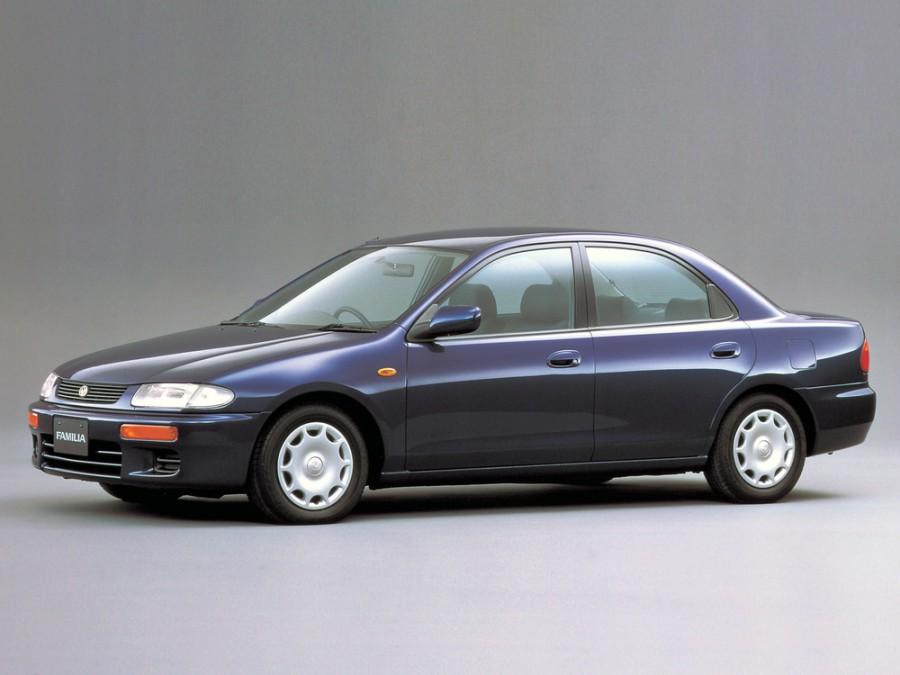 Mazda Familia седан, 1994–1998, 8 поколение - отзывы, фото и характеристики на Car.ru