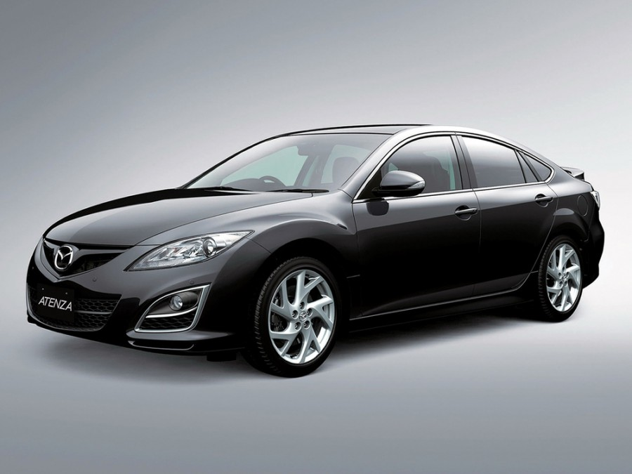 Mazda Atenza хетчбэк, 2010–2013, 2 поколение [рестайлинг] - отзывы, фото и характеристики на Car.ru