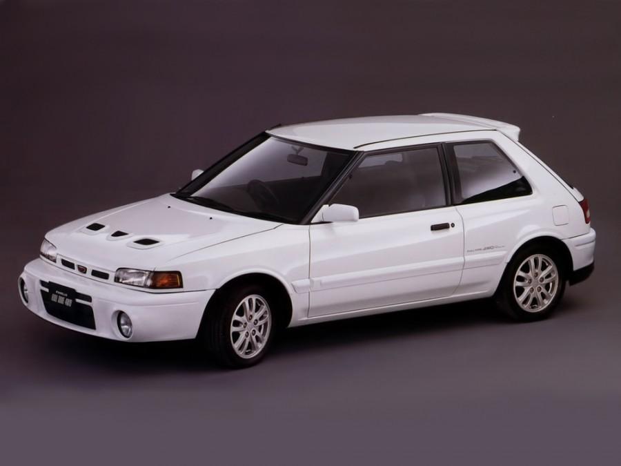 Mazda Familia GT-R хетчбэк 3-дв., 1989–2003, 7 поколение - отзывы, фото и характеристики на Car.ru