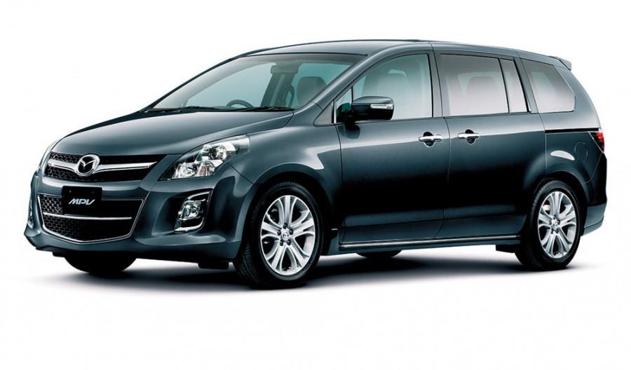 Mazda MPV минивэн, 2008–2016, 3 поколение [рестайлинг], 2.3 AT 4WD (163 л.с.), характеристики