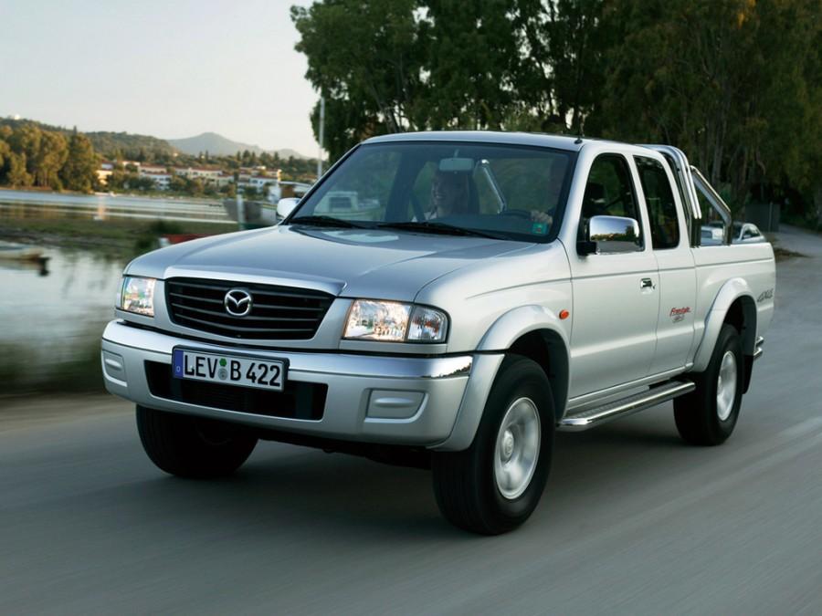 Mazda B-Series Freestyle Cab пикап 4-дв., 2002–2008, 5 поколение [рестайлинг] - отзывы, фото и характеристики на Car.ru