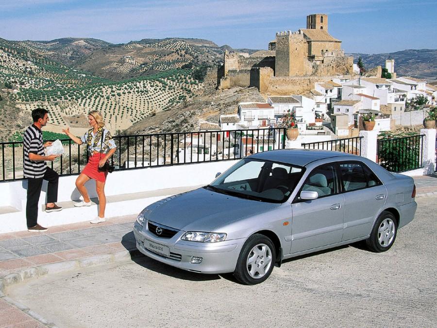 Mazda 626 седан 4-дв., 1999–2002, GF [рестайлинг] - отзывы, фото и характеристики на Car.ru