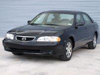 Mazda 626, GF [рестайлинг], Us-spec. седан 4-дв., 1999–2002