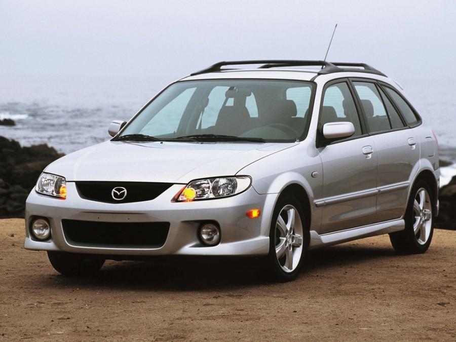 Mazda Protege хетчбэк, 2000–2003, BJ [рестайлинг], 2.0 MT (132 л.с.), характеристики