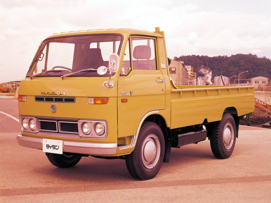 Mazda Titan шасси 2-дв., 1971–1977, 1 поколение - отзывы, фото и характеристики на Car.ru