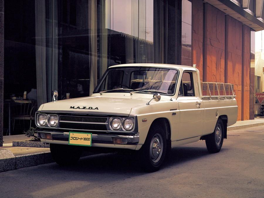 Mazda Proceed пикап, 1 поколение - отзывы, фото и характеристики на Car.ru