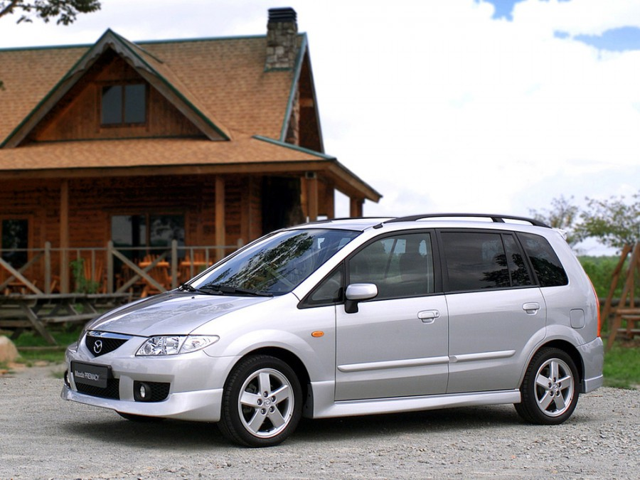 Mazda Premacy минивэн, 2001–2005, 1 поколение [рестайлинг] - отзывы, фото и характеристики на Car.ru
