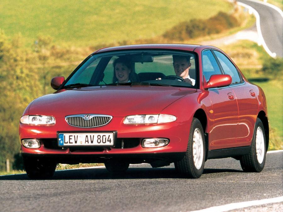 Mazda Xedos 6 седан, 1992–1999, 1 поколение, 1.6 MT (107 л.с.), характеристики