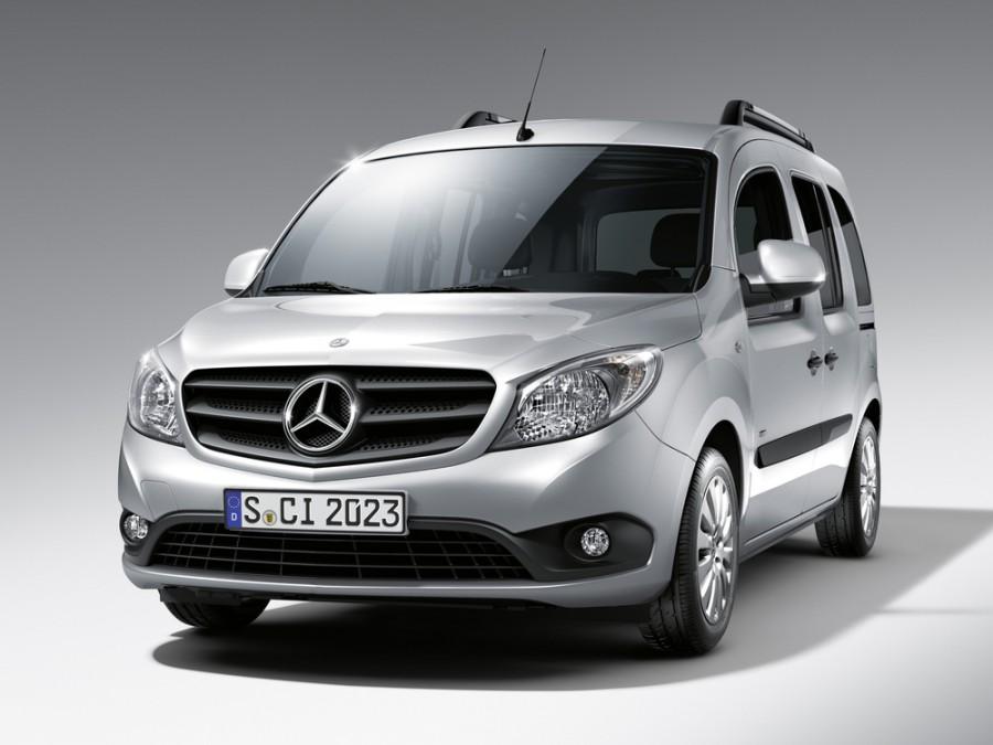Mercedes Citan минивэн, 2012–2016, W415, 112 L2 MT (114 л.с.), Базовая, характеристики