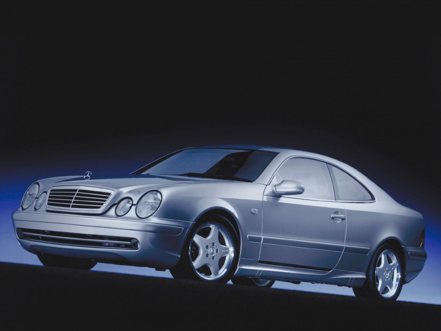 Mercedes CLK-Class купе, 1999–2003, W208/A208 [рестайлинг] - отзывы, фото и характеристики на Car.ru