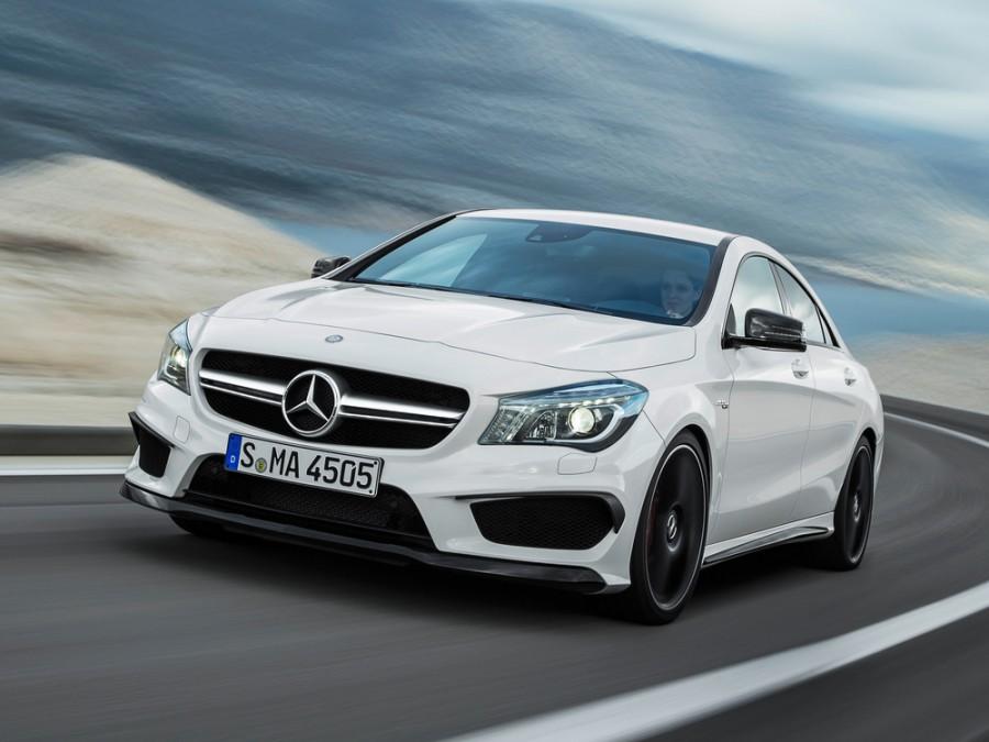 Mercedes CLA-Class AMG седан 4-дв., 2013–2016, C117, CLA 45 AMG Speedshift DCT 4Matic (360 л.с.), Особая серия, характеристики