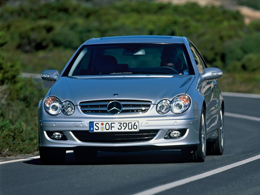 Mercedes CLK-Class купе, 2005–2010, C209/A209 [рестайлинг] - отзывы, фото и характеристики на Car.ru