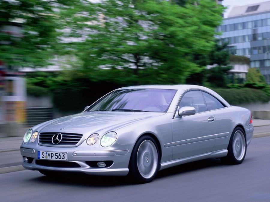 Mercedes CL-Class AMG купе 2-дв., 1999–2002, C215 - отзывы, фото и характеристики на Car.ru