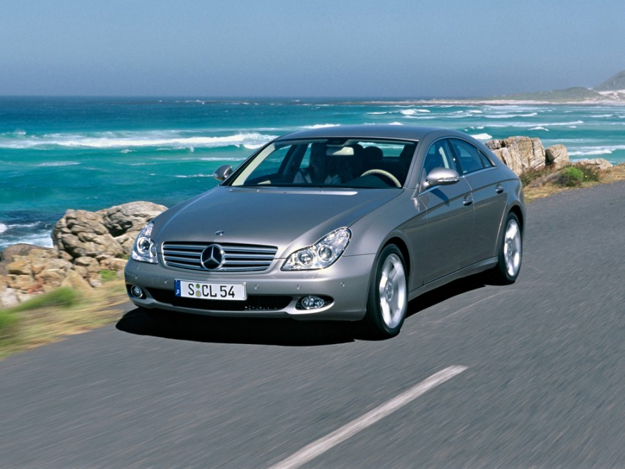 Mercedes CLS-Class седан 4-дв., 2004–2008, C219 - отзывы, фото и характеристики на Car.ru