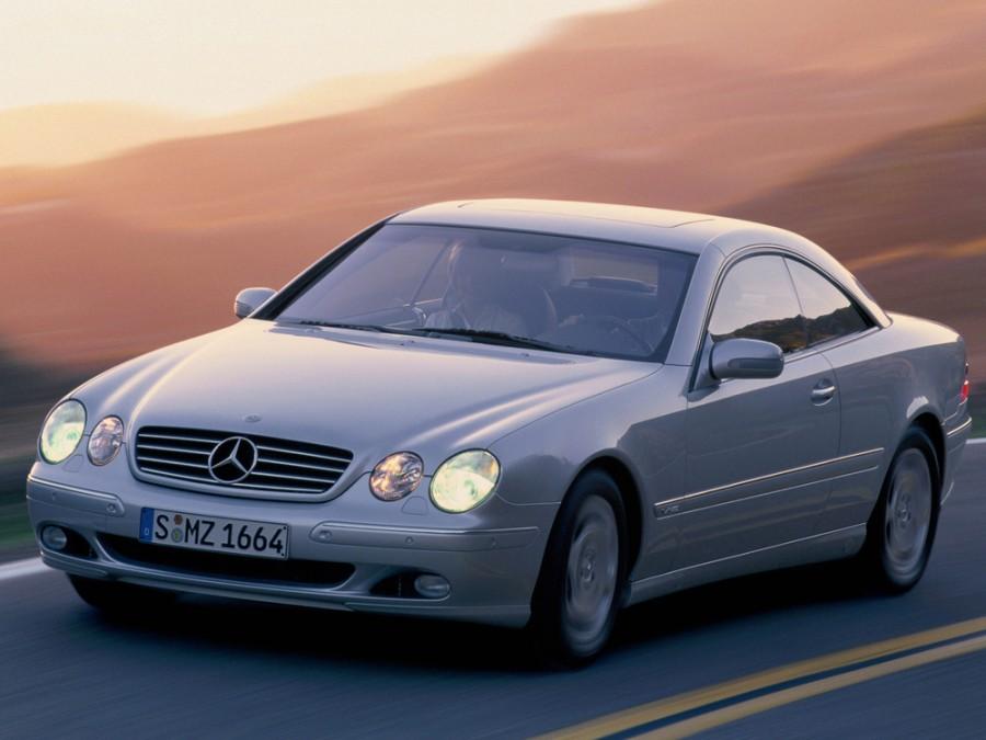 Mercedes CL-Class купе 2-дв., 1999–2002, C215 - отзывы, фото и характеристики на Car.ru