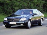 Mercedes CL-Class, С140, Купе, 1996–1998