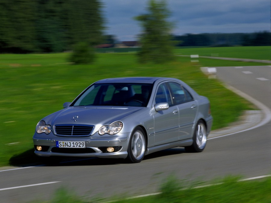 Mercedes C-Class AMG седан 4-дв., 2000–2004, W203/S203/CL203 - отзывы, фото и характеристики на Car.ru