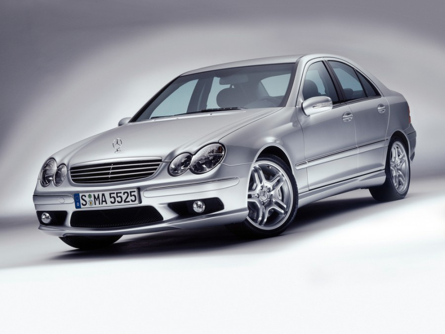 Mercedes C-Class AMG седан 4-дв., 2004–2008, W203/S203/CL203 [рестайлинг] - отзывы, фото и характеристики на Car.ru