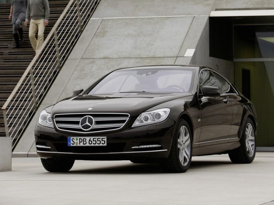 Mercedes CL-Class купе 2-дв., 2010–2013, C216 [рестайлинг] - отзывы, фото и характеристики на Car.ru