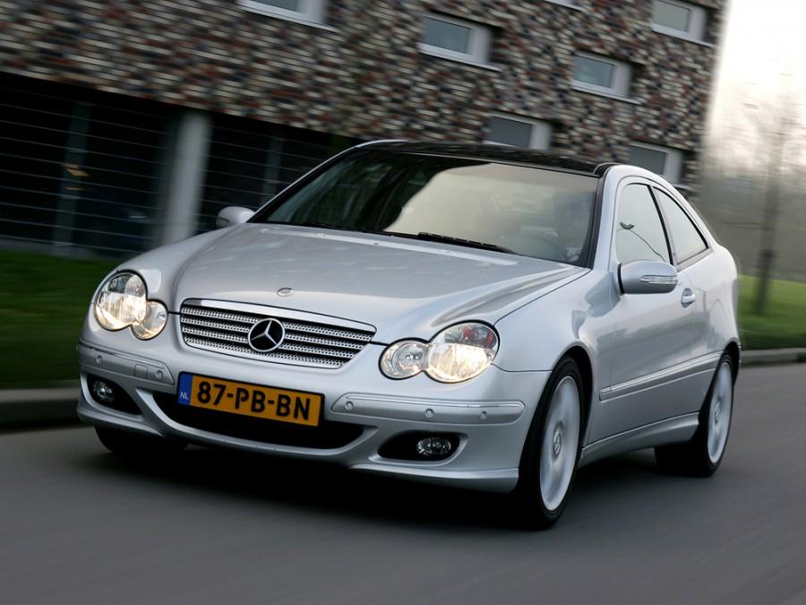 Mercedes C-Class купе, 2004–2008, W203/S203/CL203 [рестайлинг] - отзывы, фото и характеристики на Car.ru