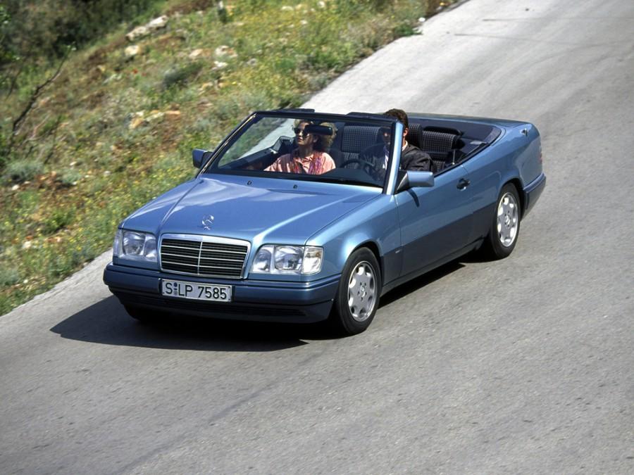 Mercedes E-Class кабриолет, 1993–1997, W124 [2-й рестайлинг] - отзывы, фото и характеристики на Car.ru