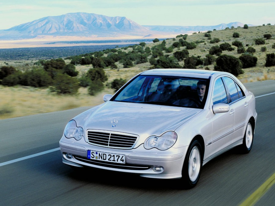 Mercedes C-Class седан 4-дв., 2000–2004, W203/S203/CL203 - отзывы, фото и характеристики на Car.ru
