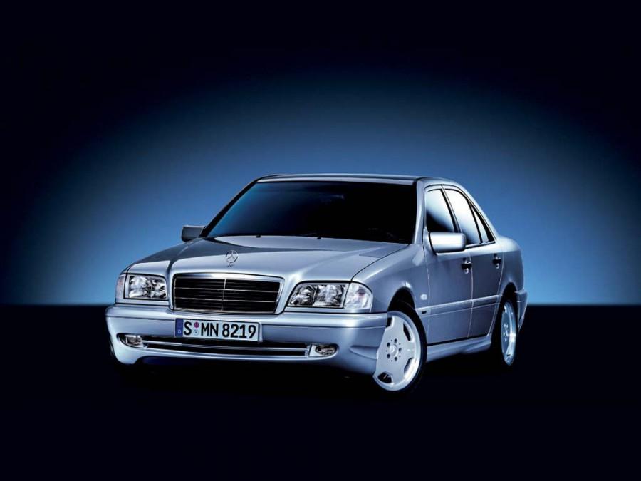 Mercedes C-Class AMG седан 4-дв., 1997–2001, W202/S202 [рестайлинг] - отзывы, фото и характеристики на Car.ru