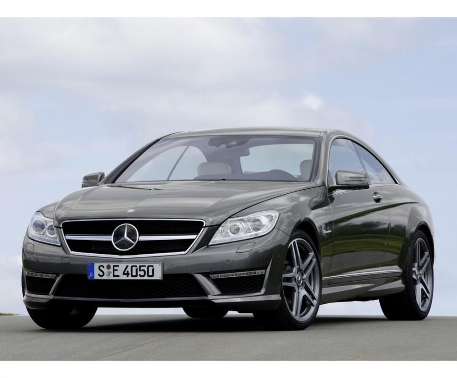 Mercedes CL-Class AMG купе 2-дв., 2010–2013, C216 [рестайлинг], CL 63 Performance Package Speedshift MCT (571 л.с.), характеристики
