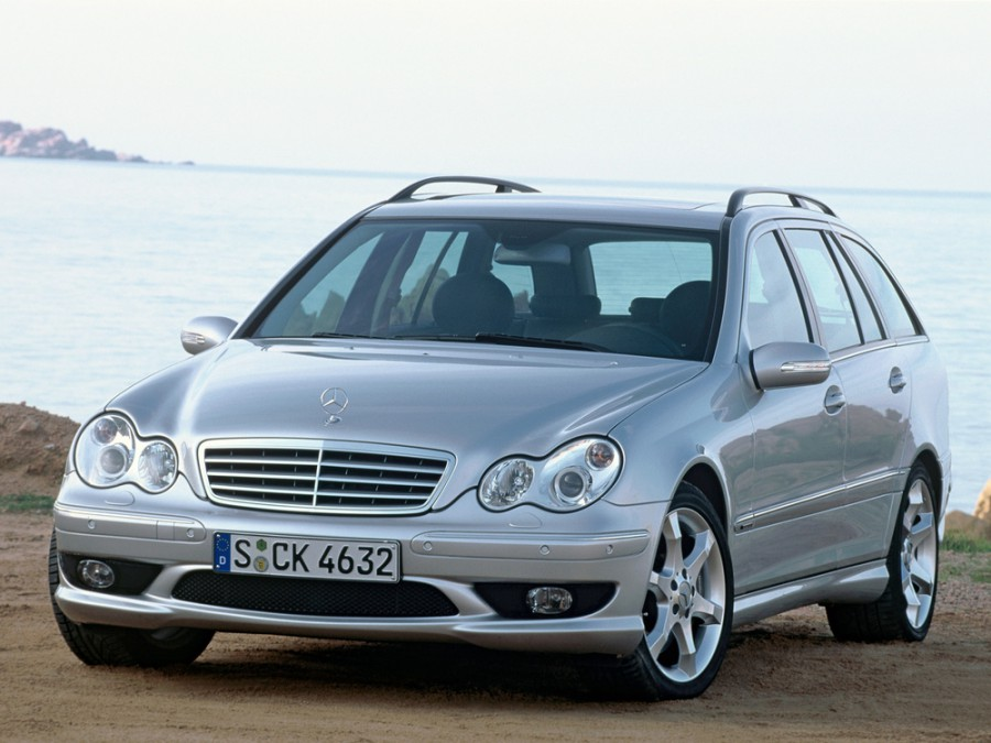 Mercedes C-Class универсал 5-дв., 2004–2008, W203/S203/CL203 [рестайлинг] - отзывы, фото и характеристики на Car.ru