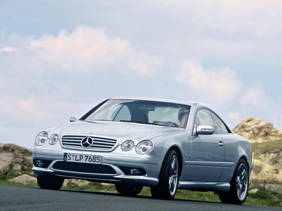 Mercedes CL-Class AMG купе 2-дв., 2002–2006, C215 [рестайлинг], CL 65 5G-Tronic (612 л.с.), характеристики