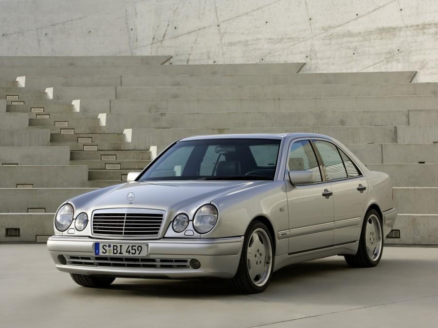 Mercedes E-Class AMG седан 4-дв., 1995–1999, W210/S210 - отзывы, фото и характеристики на Car.ru