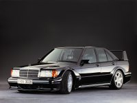Mercedes C-Class, W201 [рестайлинг], 2.5-16 evolution ii седан 4-дв., 1988–1993