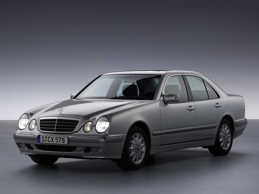 Mercedes E-Class седан, 1999–2002, W210/S210 [рестайлинг], E 280 MT (204 л.с.), характеристики