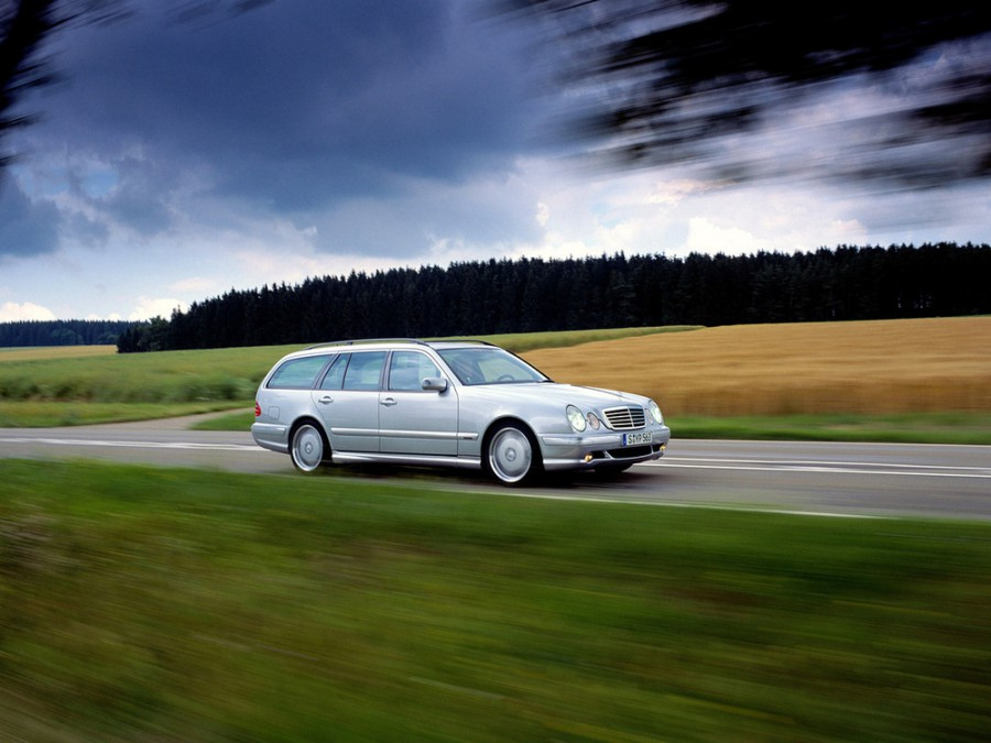 Mercedes E-Class AMG универсал 5-дв., 1999–2002, W210/S210 [рестайлинг] - отзывы, фото и характеристики на Car.ru